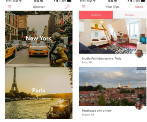 Airbnb(mobile-first web design)