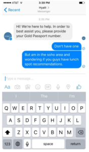 Facebook Messenger for 24-hour customer service