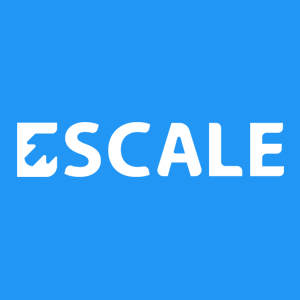 An Escale Solutions logo with hidden messages