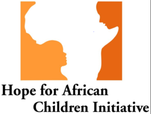 Hope for African Children Initiative logo with hidden images