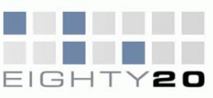 Eighty20 logo with hidden meanings