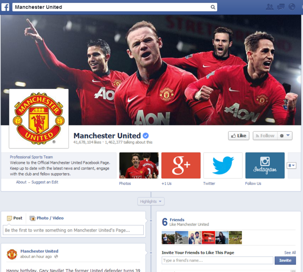 Manchester United Facebook Page Branding Case Studies Every Marketer Must Know