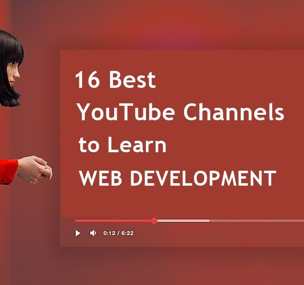16 best youtube channels to learn web development