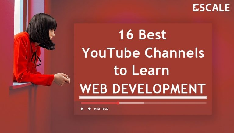 Featured image: 16 best youtube channels to learn web development