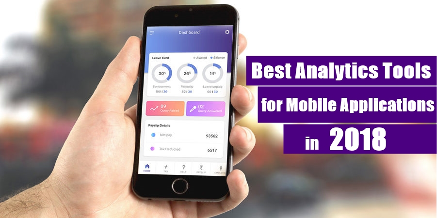 Best Analytics Tools for Mobile Applications in 2018