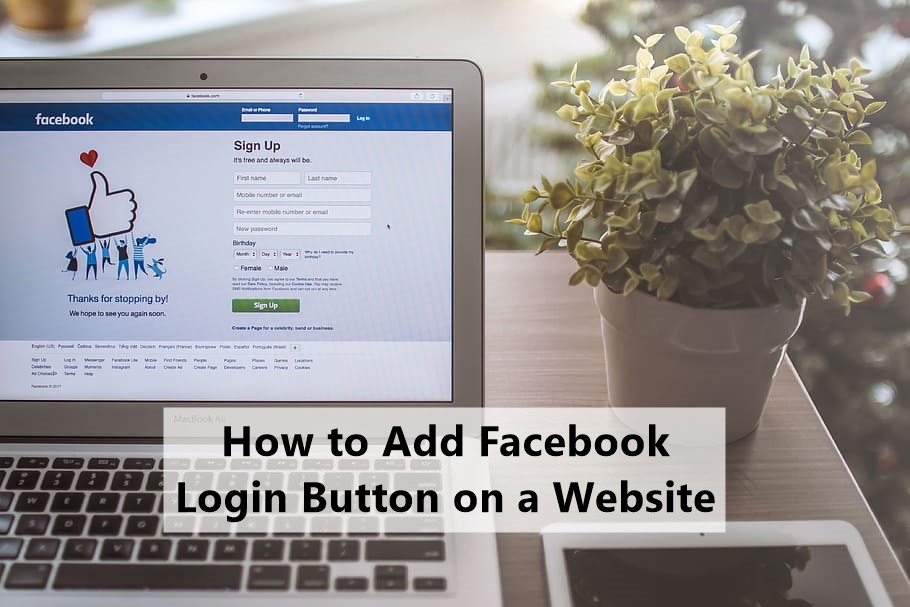 How to Add Facebook Login Button on a Website