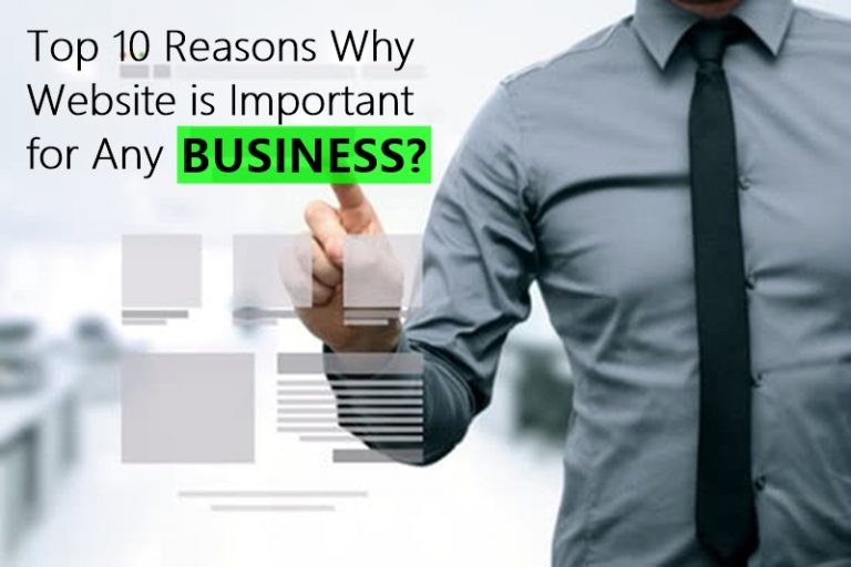 Top 10 Reasons Why Website is Important for Any Business?