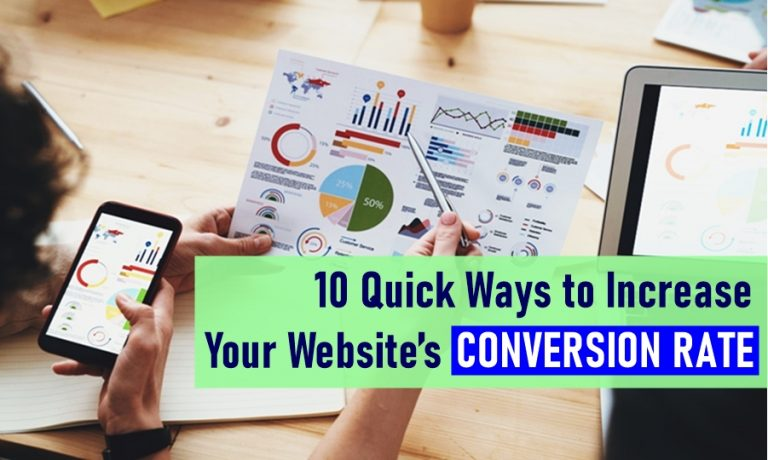 10 Quick Ways to Increase Your Website's Conversion Rate