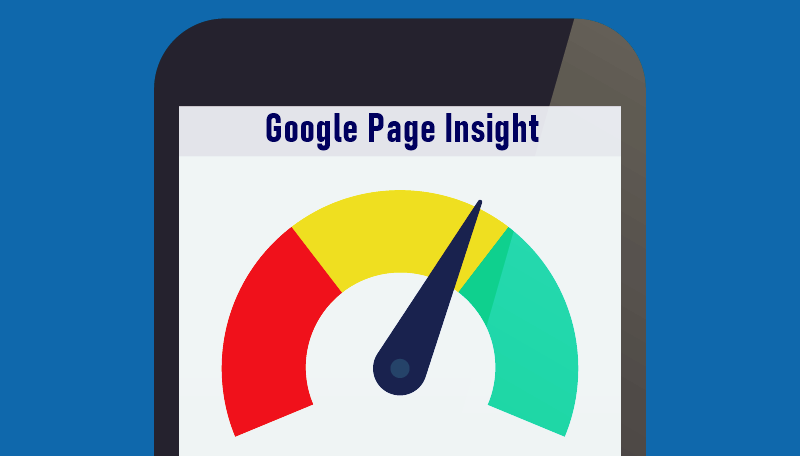 Conversion rate: An image of Google Page Insight