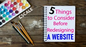 Featured Image: 5 Things to Consider Before Redesigning a Website