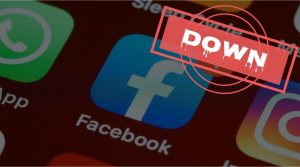 banner image: Facebook scrambles to fix a massive outage